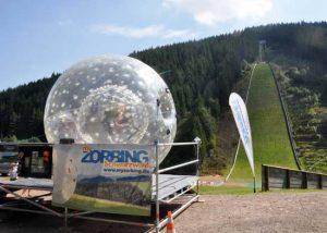 Beratung für Zorbing-Stationsbetreiber durch ZORB®Europe