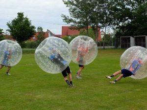 Bubble Soccer liegt im Trend, Body Zorbs von ZORB® Europe