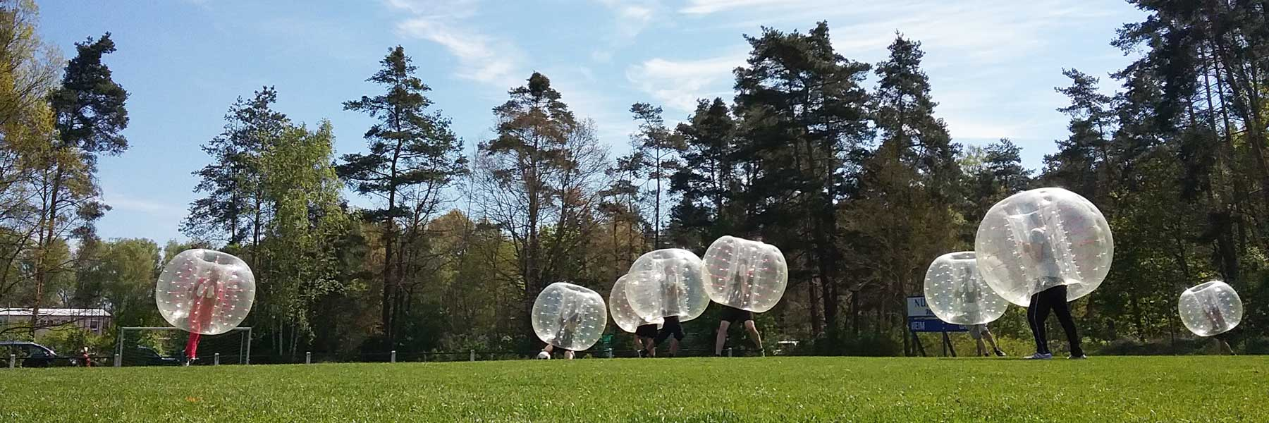 Bubble Soccer mit BodyZorbs®
