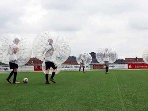 Bubble Soccer beim Fußballturnier, Zorb® Europe, Nürnberg