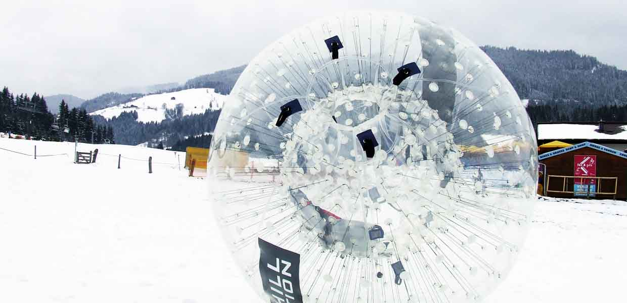 ZORB® im Winter, ZORB® Europe, Nürnberg