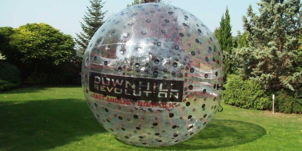 ZORB® mit Downhill Revolution-Logo