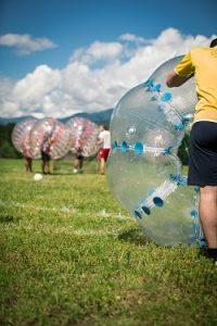 Bubble Soccer-Turnier 2017 in Pfalzen bei Bozen
