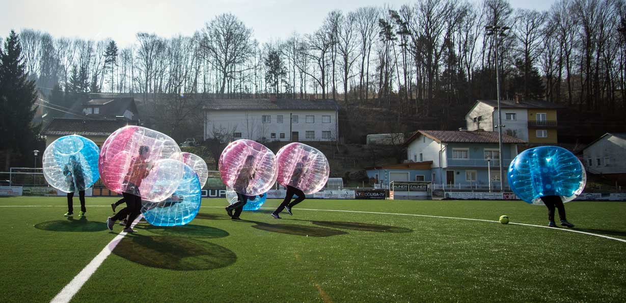 Bubble Soccer, ZORB Europe