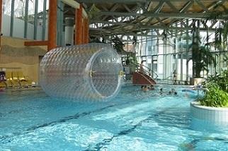 Wasser Roller im Freizeitbad Platsch, Oschatz